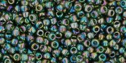 tr-11-180 Transparent Rainbow Olivine
