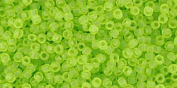 tr-15-4f Transparent-Frosted Lime Green