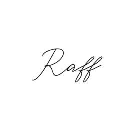 Naamsticker | Raff