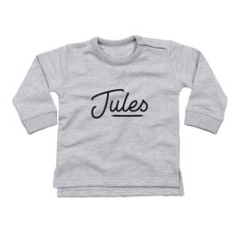 Jules | Sweater met naam