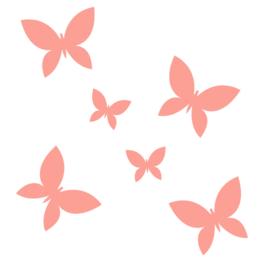Juulz | Muurstickers | Vlinders