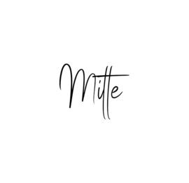 Naamsticker | Mitte