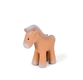 Tikiri | Bijt- & Badspeeltje met belletje | Paard