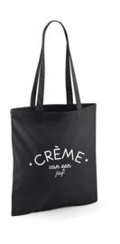 Shopping bag | Crème van een juf