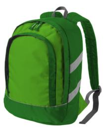 Nylon peuter / kleuter rugzak | Groen