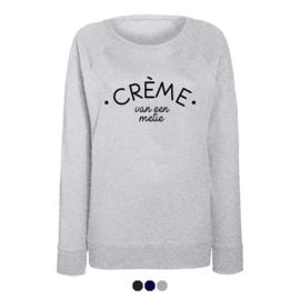 Dames sweater | Crème van een metie