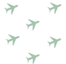Juulz | Muurstickers | Vliegtuig