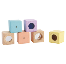 PlanToys | Sensory blocks Pastel