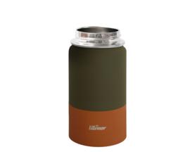 Eef Lillemor   RVS Thermische drinkfles Palm green - 375ml