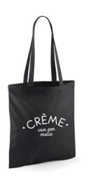 Shopper Tote Bag | Crème van een metie