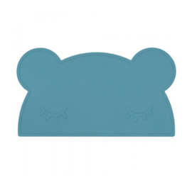 We Might Be Tiny | Placemat Bear | Blue Dusk