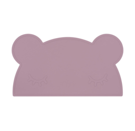 We Might Be Tiny | Placemat Bear | Dusty Rose
