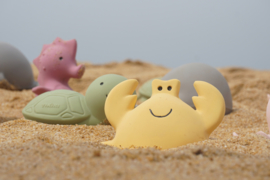 Tikiri | Bijt- & Badspeeltje met belletje | Krab