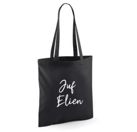 Shopping bag | Juf / Meester met naam