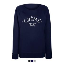 Dames sweater | Crème van een tante