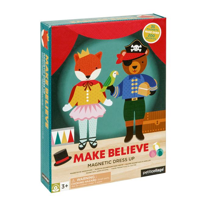Petit Collage   Magneetset Aankleedspel - Make Believe / Verkleden