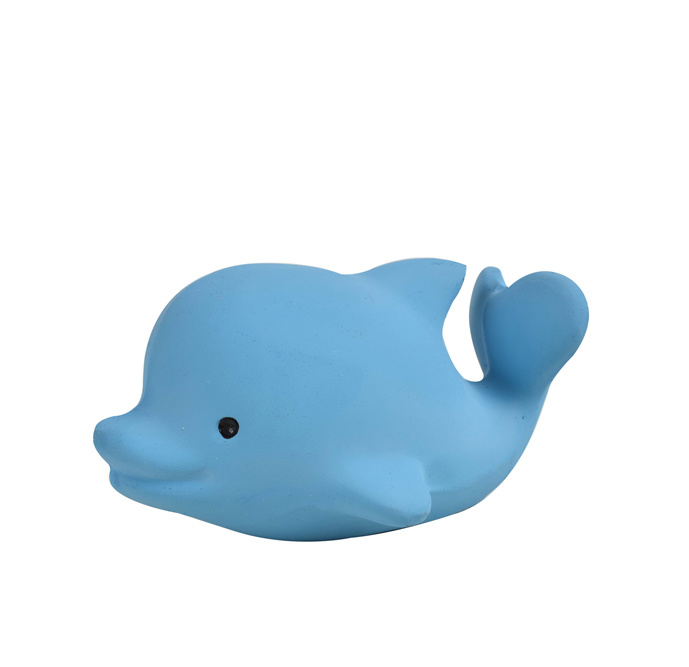 Tikiri   Bijt- & Badspeeltje met belletje   Dolfijn