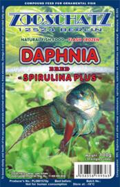 Daphnia spirulina plus watervlooien plak 500gr