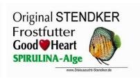 500 gram Stendker spirulina goodheart plaat
