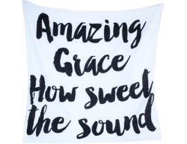 Hydrofieldoek Modern Burlap - Amazing Grace