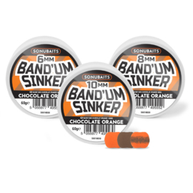 Band'um Sinker Chocolate Orange  8mm