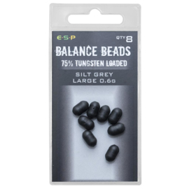 ESP Tungsten Loaded  Balance Beads Silt Grey Large