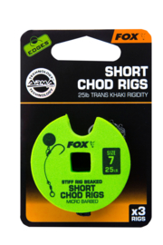 Fox Edges Short Chod Rig Size 7