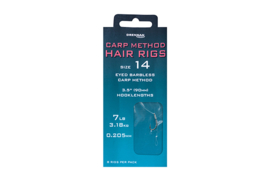 Drennan Carp Method Hair Rigs Maat 10