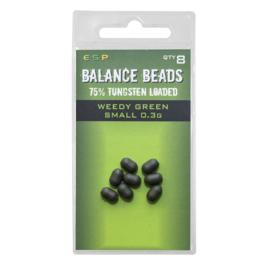 ESP Tungsten Loaded  Balance Beads Weedy Green Small