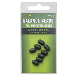 ESP Tungsten Loaded  Balance Beads Weedy Green Large