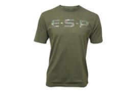 ESP Camo T-Shirt Olive Green XL