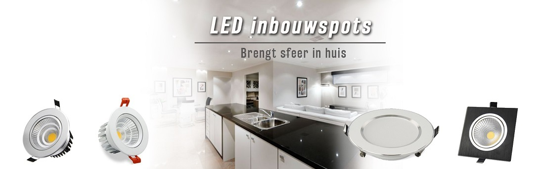 Livolo - LED design inbouwspots