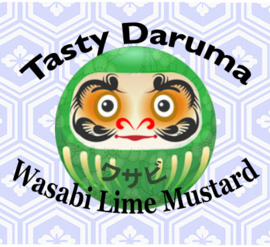 Daruma Groen: Wasabi Lime Mosterd