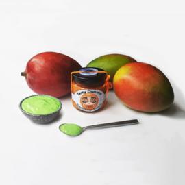 Daruma Oranje: Wasabi Mango Mosterd