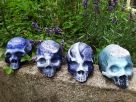 Lapiz lazuli lavender Skull soap