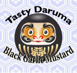 Daruma Zwart: Black Garlic Mosterd