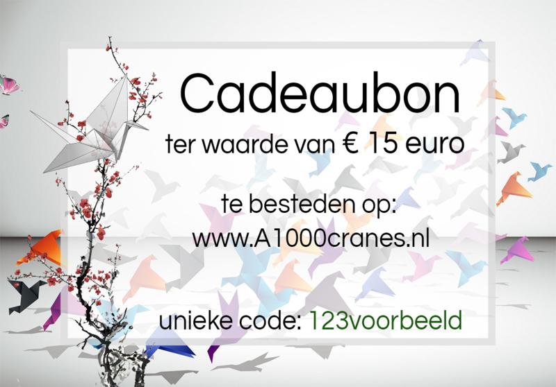 Gift Card 15 euro