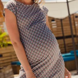 ANNABELLE DRESS RETRO FOULARD