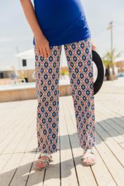 ADA SHIRT  COBALT -7/8 sleeves