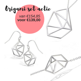 Origami set actie