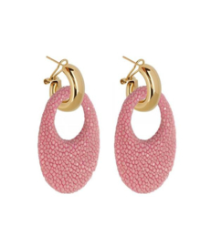 AMJOYA Earrings Marbella Pink