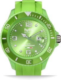 Tutti Milano TM001GR- Horloge - 48 mm - Groen - Collectie Pigmento