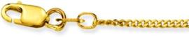 Glow schakelketting - Dames - Goud - 50cm