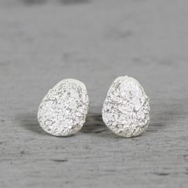 Jeh Jewels 19787 - Oorsteker zilver wit