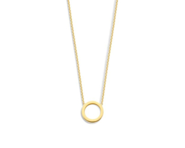 Just Franky Iconic Necklace Open Circle