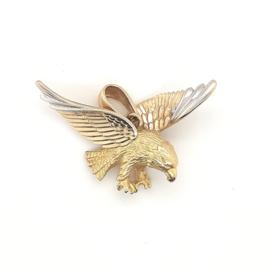 Geelgouden hanger adelaar