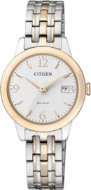 Citizen Horloge - Goud - Zilverkleurig - ew2234-55a