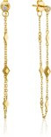 Ania Haie Oorhangers AH E016-04G - Zilver Goldplated