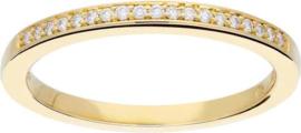 Glow - Gouden ring met steen GH/SI3