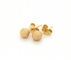 Cataleya Earrings bol sparkling 4mm